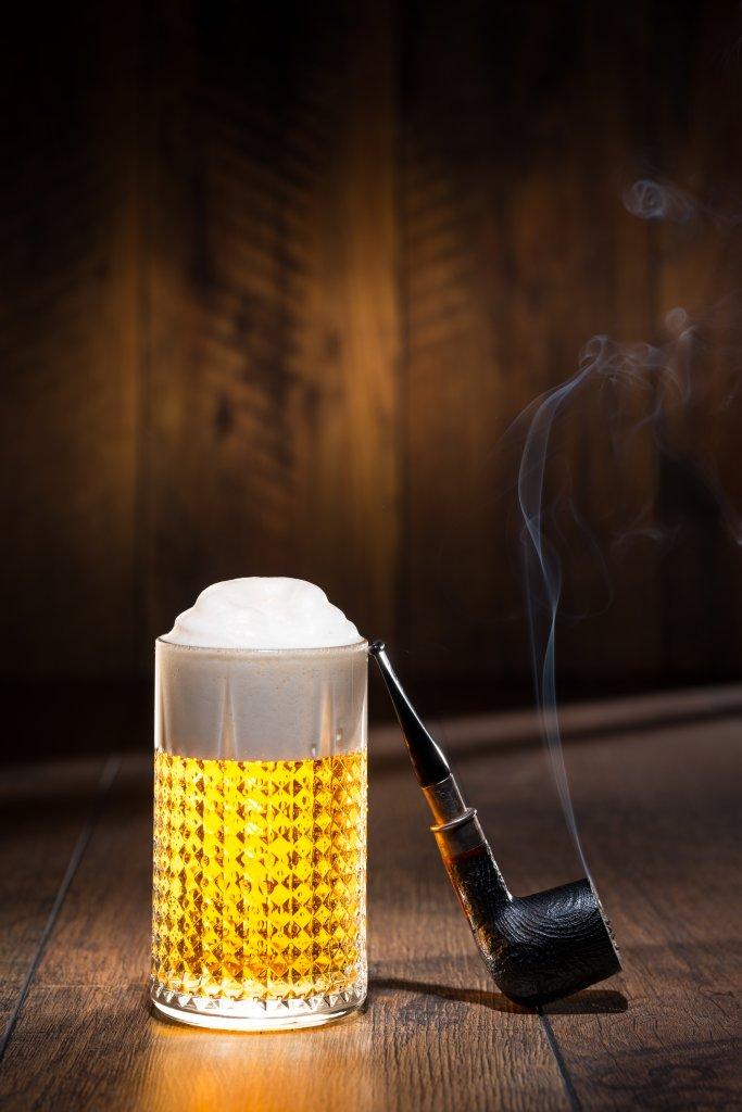 fotenie piva - orosené pivo
